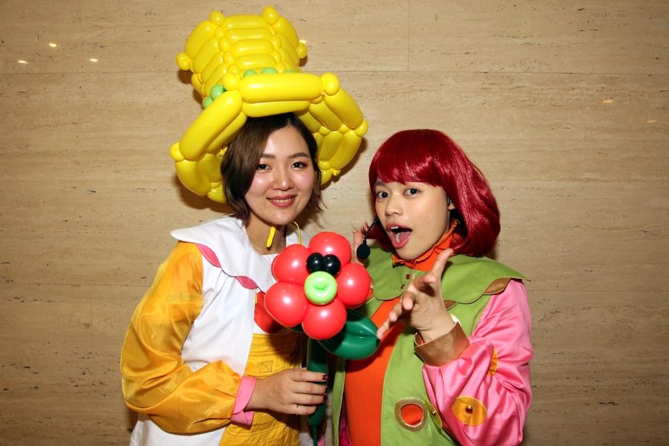 Emily & Ballooner @平成31年オレンジ会新年会