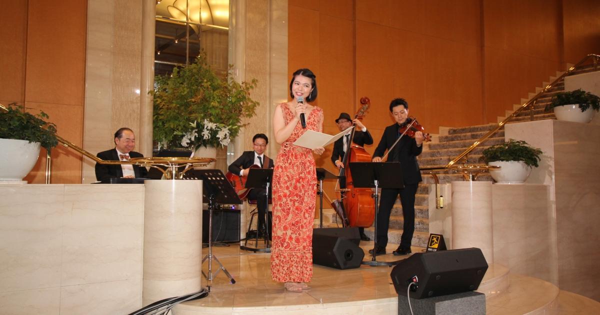 ホテル日航福岡開業30周年記念イベント「Happy Celebration Lobby Concert」