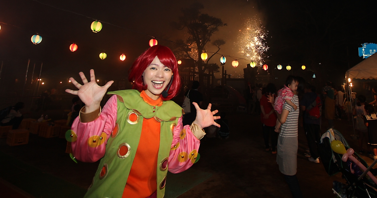 エミリー☆ファミリーコンサート@大浦保育園夕涼み盆踊り大会