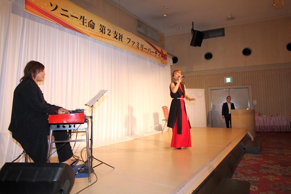 EMILY & MAYUMI@ソニー生命第2支社ファミリーパーティー
