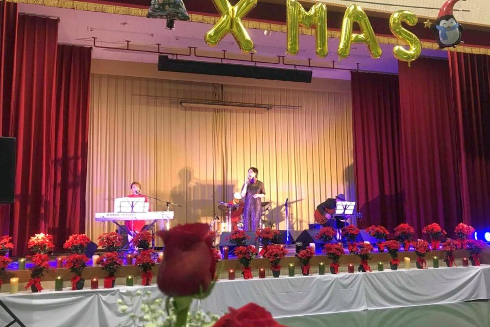 リレットファミリー@緑風会クリスマス誕生会