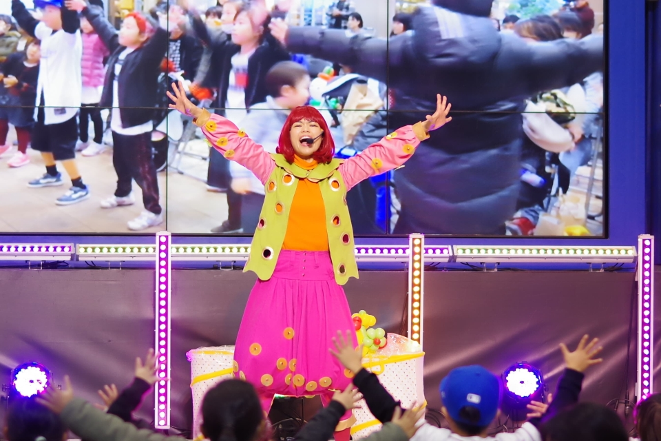 エミリー☆ファミリーコンサート@イオンモール鹿児島(写真:上園勝美さん)
