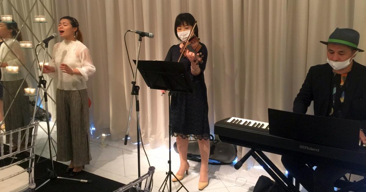 ブライダル演奏@シーサイド平川MASARU