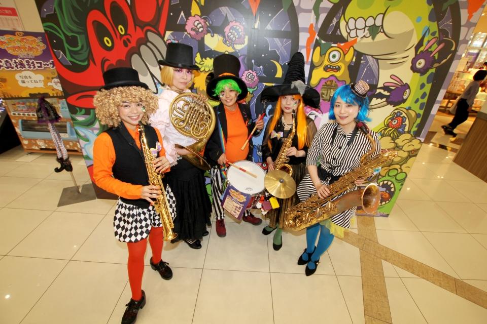 ハロウィン音楽隊パレードをしてきました(^○^)♪♪