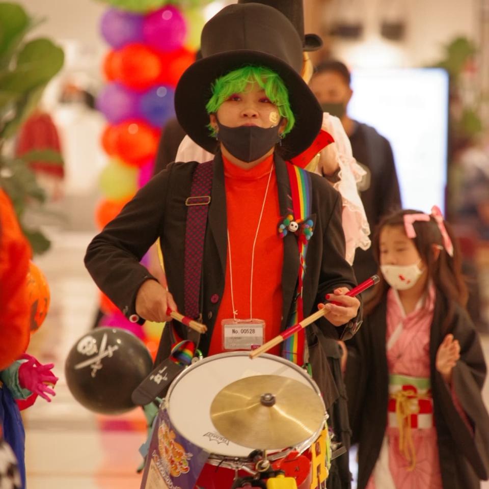 ドラムのshihoとは小学生の頃同じクラス photo by 上園勝美さん