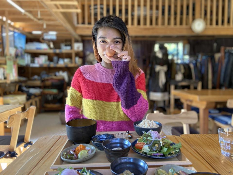 合鴨の里 納屋 糀 カフェでランチ(#^^#)