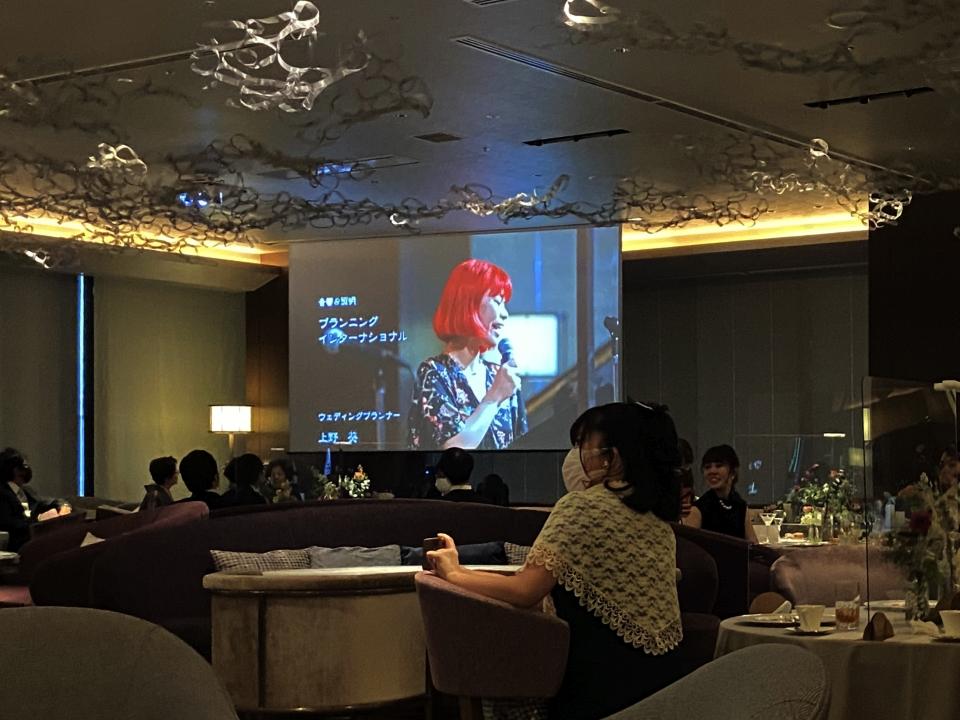 結婚式 司会 ボーカル @城山ホテル