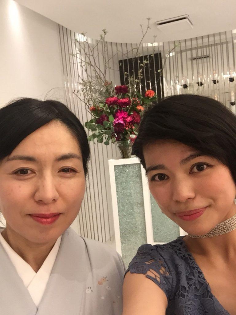 お箏のリエさんと(#^^#)
